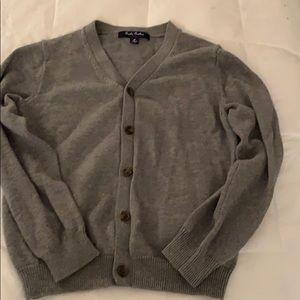 Boys Brooks Bothers cardigan sweater